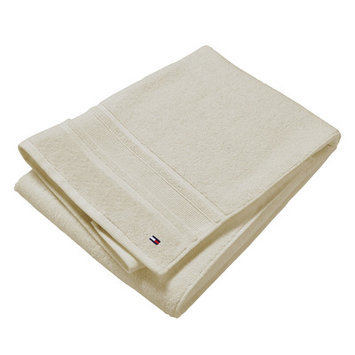 Tommy Hilfiger Signature 6 Piece Towel Set Color: Pearl