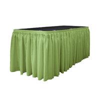La Linen Table Skirt Color: Sage