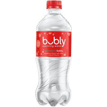 Bubly Strawberry Bubly™ Sparkling Water 20 fl. oz. Bottle