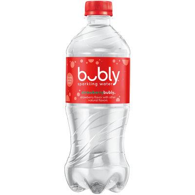Bubly Strawberry Bubly™ Sparkling Water 20 fl. oz. Bottle