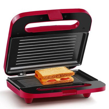 Holstein Housewares 2 Section Paninis and Sandwich Maker Color: Pink