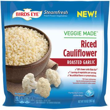 birds eye® steamfresh® roasted garlic riced cauliflower