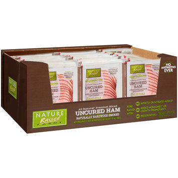Nature Raised Farms® All Natural Premium Sliced Uncured Ham 30-24 oz. ZIP-PAK®
