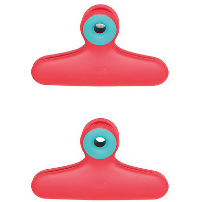 OXO Good Grips Red Bag Clips in 2 Pack