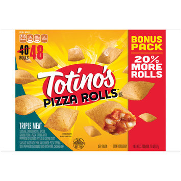 Totino's™ Triple Meat Pizza Rolls™ 48 ct Bag