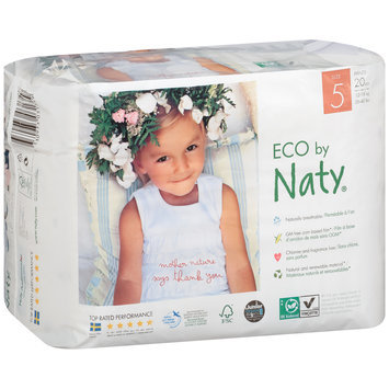Eco by Naty® Size 5 Pants 20 ct Pack