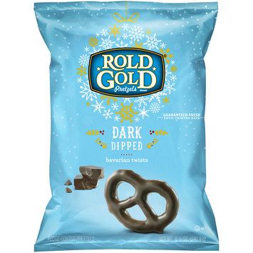 Rold Gold® Dark Dipped Bavarian Twists Fudge Coated Pretzels 8.5 oz. Bag