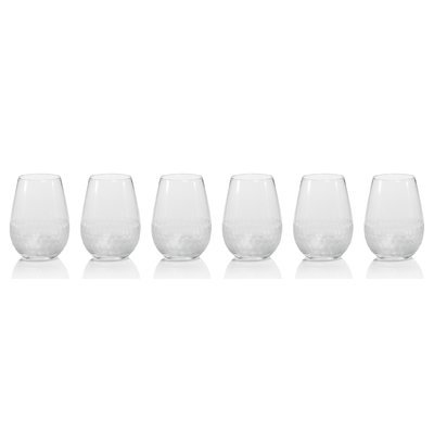 Brayden Studio Sardina Frosted 19.27 oz. Wine Tumbler/Stemless Wine Glass