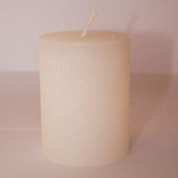 Winston Porter Pillar Candle (Set of 4) Color: Off-White