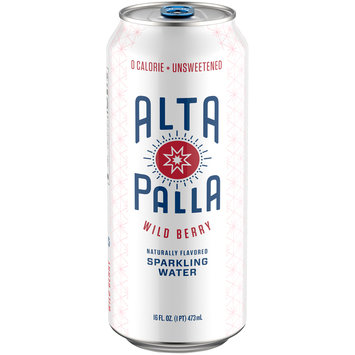 Alta Palla Sparkling Wild Berry Water 16 fl. oz. Can