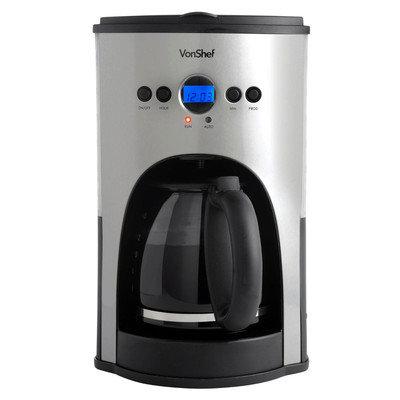 Vonshef Programmable Digital Filter Coffee Maker