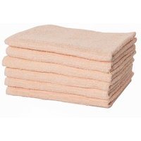 Puffy Towels Turkish Cotton Hand and Hair Towel Color: Salmon