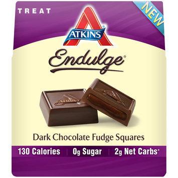 Atkins® Endulge® Dark Chocolate Fudge Squares 6 oz. Box