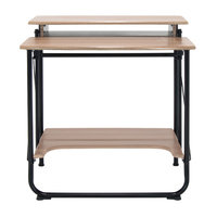 Studio Designs Stow Away Writing Desk Finish: Black/Driftwood
