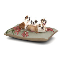 East Urban Home Carina Povarchik 'Feng Shui' Dog Pillow with Fleece Cozy Top Size: Large (50