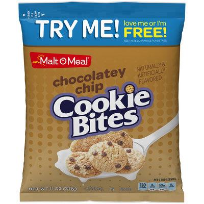 Malt-O-Meal® Chocolatey Chip Cookie Bites Cereal 11 oz. Bag