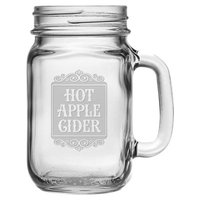 Susquehanna Glass 16 oz. Mason Jar