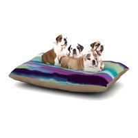 East Urban Home Nina May 'Artika' Dog Pillow with Fleece Cozy Top Size: Small (40