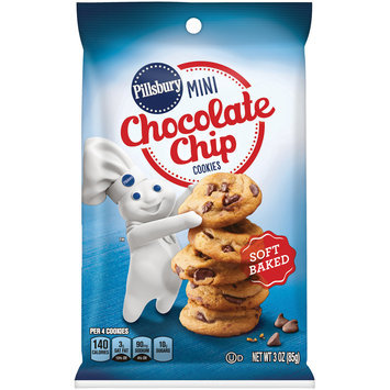 Pillsbury Mini Chocolate Chip Cookies 3 oz. Bag