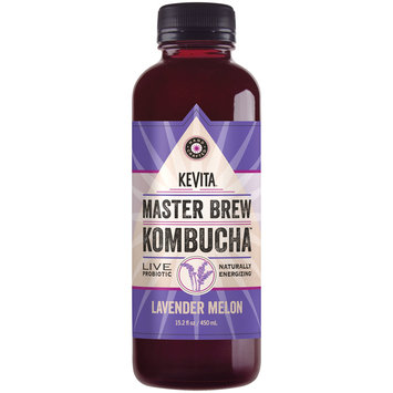 Kevita® Master Brew Kombucha™ Lavender Melon Live Probiotic Drink 15.2 fl. oz. Bottle