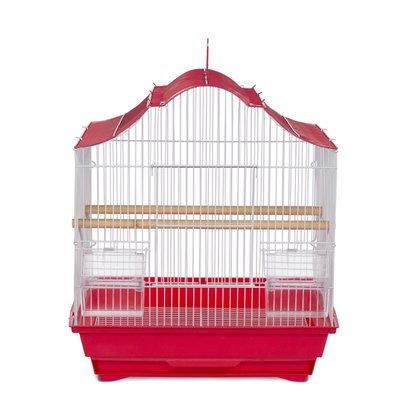 Prevue Hendryx Soho Pet Crown Top Cockatiel Bird Cage with Removable Tray