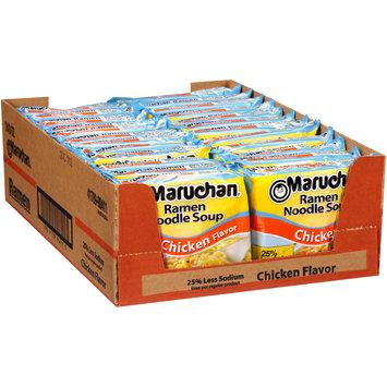 Maruchan® Chicken Flavor 25% Less Sodium Ramen Noodle Soup 2s