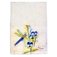 Betsy Drake Interiors Dragonfly Hand Towel