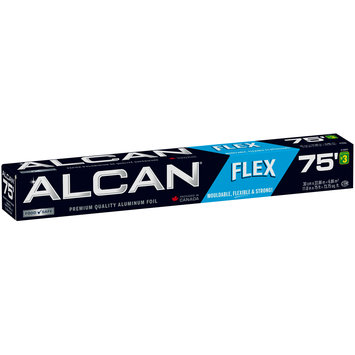 Alcan® 75' Flex Premium Quality Aluminum Foil 73.75 sq. ft. Box