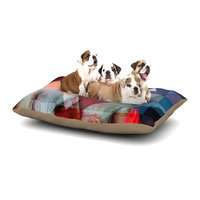 East Urban Home Suzanne Carter 'Twins' Dog Pillow with Fleece Cozy Top Size: Large (50