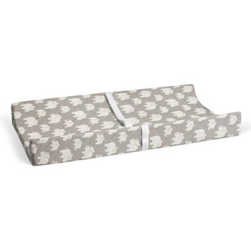 Harriet Bee Westminster Elephant Herd Blush Changing Pad Cover Color: Gray