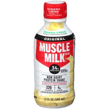 Muscle Milk® Original Banana Creme Non Dairy Protein Shake 17 fl. oz. Plastic Bottle