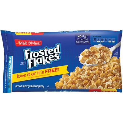 Malt-O-Meal® Frosted Flakes Cereal 31 oz. ZIP-PAK®