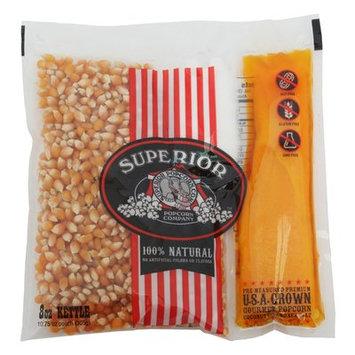 Superior Popcorn Company Organic Theater Popcorn, 8 oz.