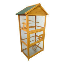 Lovupet Wood Bird Cage Color: Natural