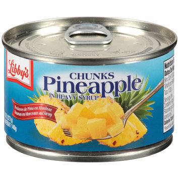 Libby's® Pineapple Chunks in Heavy Syrup 8 oz. Pull-Top Can