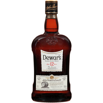 Dewar's® 12 Blended Scotch Whisky 1.75L