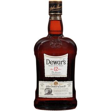 Dewar's® 12 Blended Scotch Whisky 1.75L