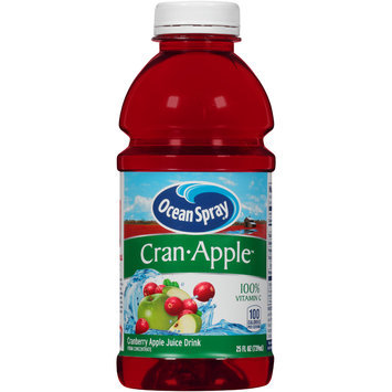 Ocean Spray® Cran • Apple™ Juice Drink 25 fl. oz. Plastic Bottle