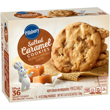 Pillsbury Big Deluxe™ Salted Caramel Cookies 3-14 oz. Package
