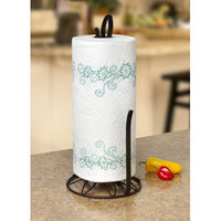 Rebrilliant Paper Towel Holder Color: Black