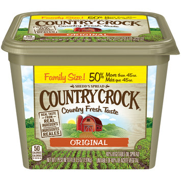 Shedd's Spread Country Crock® Original 40% Vegetable Oil Spread