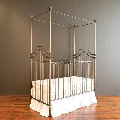 Bratt Decor Parisian 9-in-1 Convertible Crib Finish: Gold