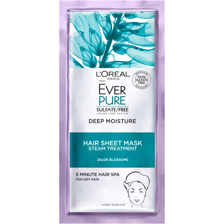 L'Oréal Paris EverPure Deep Moisture Hair Sheet Mask