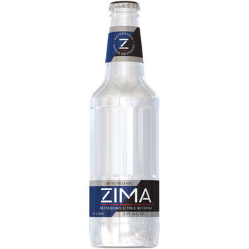 Zima® Refreshing Citrus Beverage Cooler 12 fl. oz. Bottle