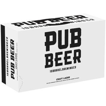Pub Beer 15-12 fl. oz. Cans