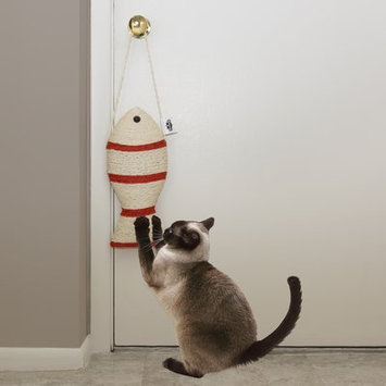 Petmaker Fish Cat Toy Scratching Post