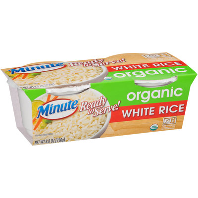 Minute® Ready To Serve Organic White Rice 8.8 oz. Pack