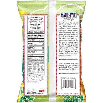 Maui Style Onion Potato Chips 6 oz. Plastic Bag
