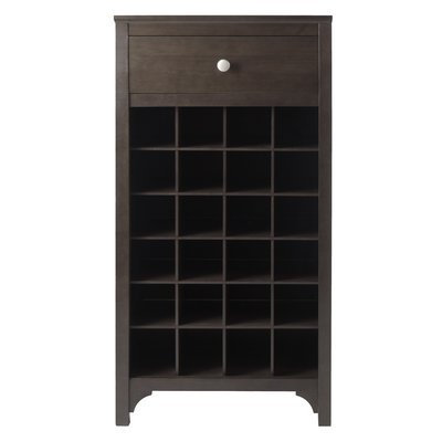 Darby Home Co Mackenzie 24 Bottle Floor Wine Rack