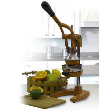 Imperial Home Cast Iron Manual Juicer Color: Copper